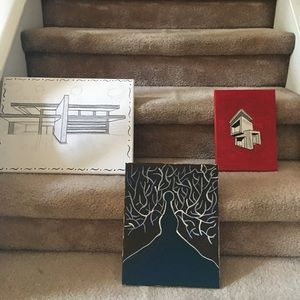 Painted / sketched art